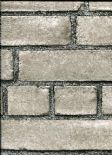 Restored Modern Rustic Wallpaper Brick Facade 2540-24052 By A Street Prints For Brewster Fine Decor
